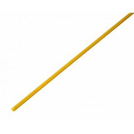 Термоусаживаемая трубка REXANT 2,0/1,0 мм, желтая, упаковка 50 шт. по 1 м