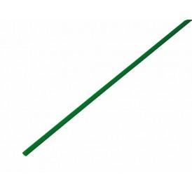 Термоусаживаемая трубка REXANT 2,0/1,0 мм, зеленая, упаковка 50 шт. по 1 м