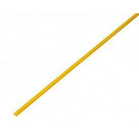 Термоусаживаемая трубка REXANT 2,5/1,25 мм, желтая, упаковка 50 шт. по 1 м