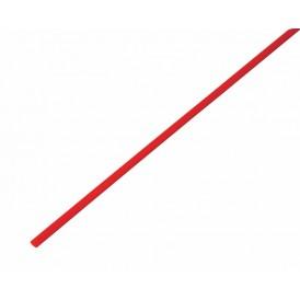 Термоусаживаемая трубка REXANT 2,5/1,25 мм, красная, упаковка 50 шт. по 1 м