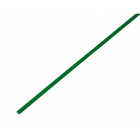 Термоусаживаемая трубка REXANT 3,0/1,5 мм, зеленая, упаковка 50 шт. по 1 м