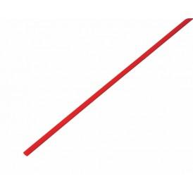 Термоусаживаемая трубка REXANT 3,0/1,5 мм, красная, упаковка 50 шт. по 1 м
