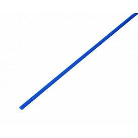 Термоусаживаемая трубка REXANT 3,0/1,5 мм, синяя, упаковка 50 шт. по 1 м