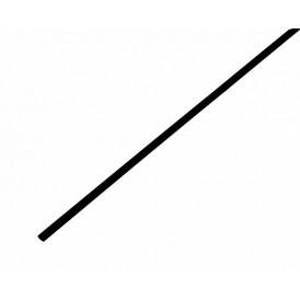 Термоусаживаемая трубка REXANT 3,0/1,5 мм, черная, упаковка 50 шт. по 1 м