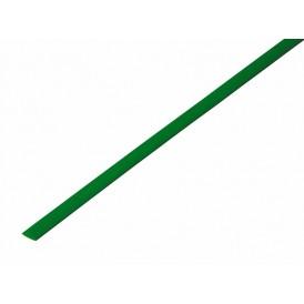 Термоусаживаемая трубка REXANT 3,5/1,75 мм, зеленая, упаковка 50 шт. по 1 м