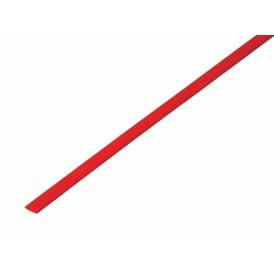 Термоусаживаемая трубка REXANT 3,5/1,75 мм, красная, упаковка 50 шт. по 1 м