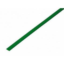 Термоусаживаемая трубка REXANT 4,0/2,0 мм, зеленый, упаковка 50 шт. по 1 м