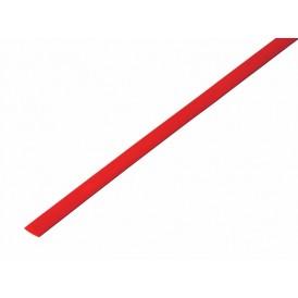 Термоусаживаемая трубка REXANT 4,0/2,0 мм, красная, упаковка 50 шт. по 1 м