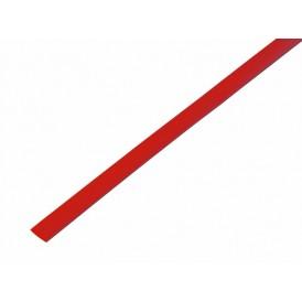 Термоусаживаемая трубка REXANT 5,0/2,5 мм, красная, упаковка 50 шт. по 1 м