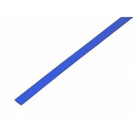 Термоусаживаемая трубка REXANT 5,0/2,5 мм, синяя, упаковка 50 шт. по 1 м