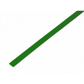 Термоусаживаемая трубка REXANT 6,0/3,0 мм, зеленая, упаковка 50 шт. по 1 м