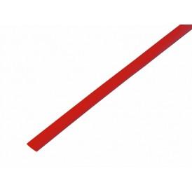 Термоусаживаемая трубка REXANT 6,0/3,0 мм, красная, упаковка 50 шт. по 1 м