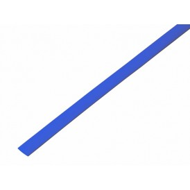 Термоусаживаемая трубка REXANT 6,0/3,0 мм, синяя, упаковка 50 шт. по 1 м