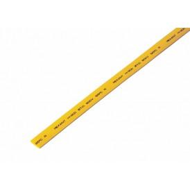 Термоусаживаемая трубка REXANT 7,0/3,5 мм, желтая, упаковка 50 шт. по 1 м