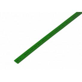 Термоусаживаемая трубка REXANT 7,0/3,5 мм, зеленая, упаковка 50 шт. по 1 м