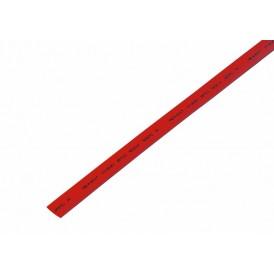 Термоусаживаемая трубка REXANT 7,0/3,5 мм, красная, упаковка 50 шт. по 1 м