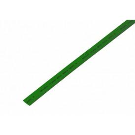 Термоусаживаемая трубка REXANT 8,0/4,0 мм, зеленая, упаковка 50 шт. по 1 м
