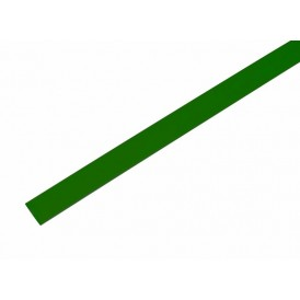 Термоусаживаемая трубка REXANT 9,0/4,5 мм, зеленая, упаковка 50 шт. по 1 м