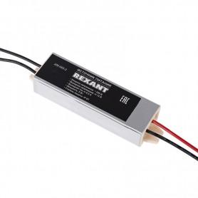 Источник питания 110-220 V AC/12 V DC 0,5 А 5 W с проводами влагозащищенный (IP67)