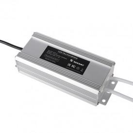 Источник питания тонкий 220 V AC/24 V DC 3 А 72 W с проводами, влагозащищенный (IP67)