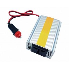Автомобильный инвертор 150 W 12 V-220 V c USB REXANT