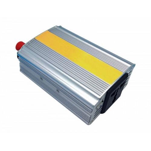 Автомобильный инвертор 300 W 12 V-220 V c USB REXANT