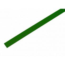 Термоусаживаемая трубка REXANT 10,0/5,0 мм, зеленая, упаковка 50 шт. по 1 м