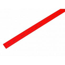 Термоусаживаемая трубка REXANT 10,0/5,0 мм, красная, упаковка 50 шт. по 1 м