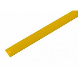 Термоусаживаемая трубка REXANT 13,0/6,5 мм, желтая, упаковка 50 шт. по 1 м