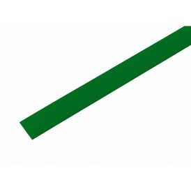 Термоусаживаемая трубка REXANT 13,0/6,5 мм, зеленая, упаковка 50 шт. по 1 м