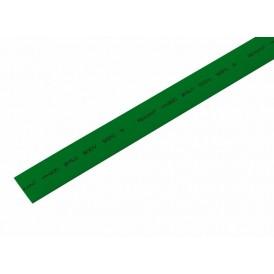 Термоусаживаемая трубка REXANT 15,0/7,5 мм, зеленая, упаковка 50 шт. по 1 м