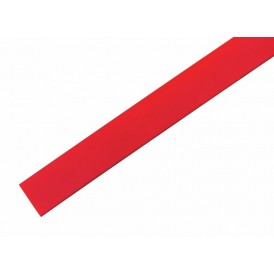 Термоусаживаемая трубка REXANT 18,0/9,0 мм, красная, упаковка 50 шт. по 1 м