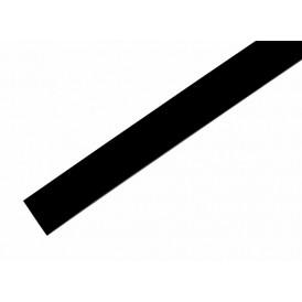 Термоусаживаемая трубка REXANT 18,0/9,0 мм, черная, упаковка 50 шт. по 1 м
