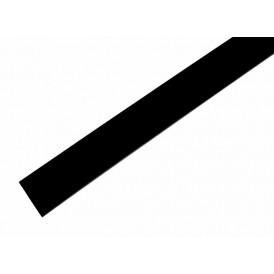 Термоусаживаемая трубка REXANT 19,0/9,5 мм, черная, упаковка 10 шт. по 1 м