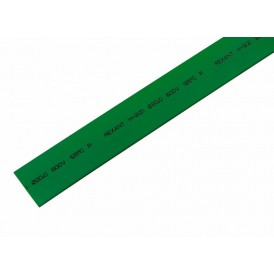 Термоусаживаемая трубка REXANT 20,0/10,0 мм, зеленая, упаковка 10 шт. по 1 м