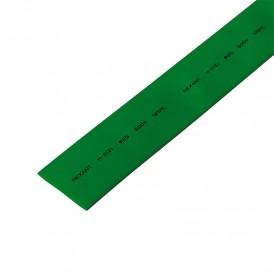 Термоусаживаемая трубка REXANT 25,0/12,5 мм, зеленая, упаковка 10 шт. по 1 м