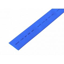 Термоусаживаемая трубка REXANT 25,0/12,5 мм, синяя, упаковка 10 шт. по 1 м