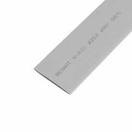 Термоусаживаемая трубка REXANT 25,0/12,5 мм, серая, упаковка 10 шт. по 1 м
