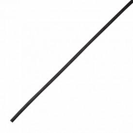 Термоусаживаемая трубка клеевая REXANT 12,0/3,0 мм, (4:1) черная, упаковка 10 шт. по 1 м