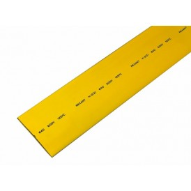 Термоусаживаемая трубка REXANT 40,0/20,0 мм, желтая, упаковка 10 шт. по 1 м