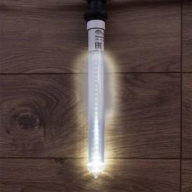 Сосулька светодиодная 30 см, 220V, e27, двухсторонняя, 24х2 диодов, цвет диодов белый | 256-161 | NEON-NIGHT