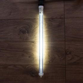 Сосулька светодиодная 50 см, 220V, e27, двухсторонняя, 48х2 диодов, цвет диодов белый   256-162   NEON-NIGHT