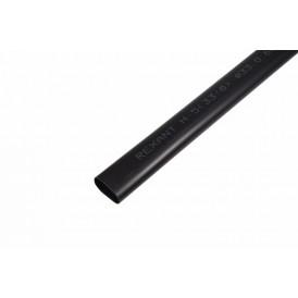 Термоусаживаемая трубка клеевая REXANT 33,0/8,0 мм, (3-4:1), черная, упаковка 4 шт. по 1 м