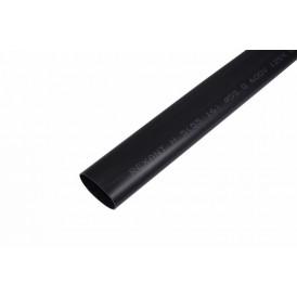 Термоусаживаемая трубка клеевая REXANT 55,0/16,0 мм, (3-4:1), черная, упаковка 2 шт. по 1 м