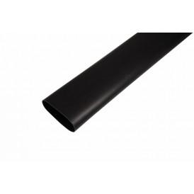 Термоусаживаемая трубка клеевая REXANT 75,0/22,0 мм, (3-4:1) черная, упаковка 2 шт. по 1 м