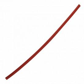 Термоусаживаемая трубка с клеевая REXANT 3,0/1,0 мм, красная, упаковка 10 шт. по 1 м