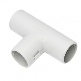Тройник соединительный для трубы ø 25, серый IP40 (50 шт./уп.) REXANT