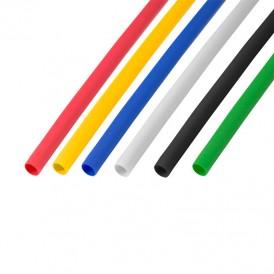 Термоусаживаемые трубки REXANT 5,0/2,5 мм, набор пять цветов, упаковка 50 шт. по 1 м