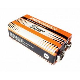 Солевая батарейка 9 V 6F22 «Крона» PROconnect