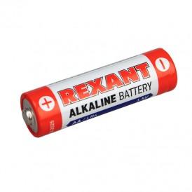 Алкалиновая батарейка AA/LR6 экономичная упаковка 24 шт. REXANT